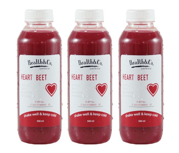 Health & Co. Paket 3 Botol Heart Beet