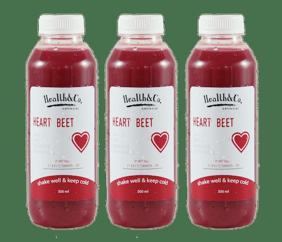 Health & Co. Paket 3 Botol Heart Beet