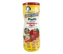 Gerber Graduates Puffs Sereal Strawberry Apel