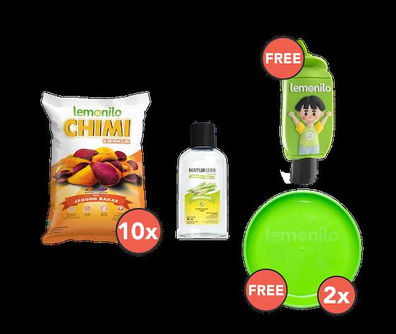 Paket Chimi Ubi & Naturizer GRATIS Holder Naturizer & 2 Piring