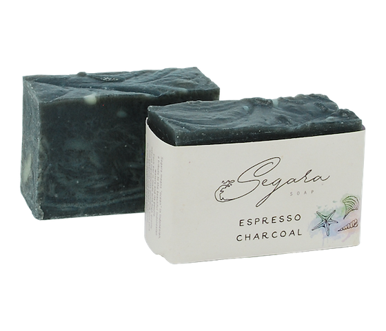 Segara Naturals Espresso Charcoal Body Soap 120 gr