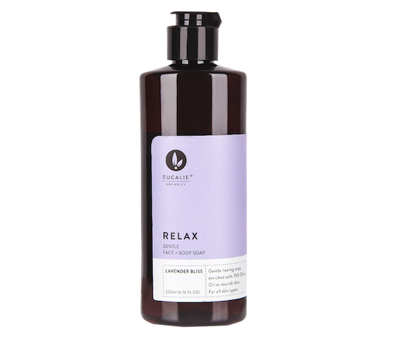 Eucalie Relax Castile Extra Gentle Natural Soap Lavender Bliss 200 ml