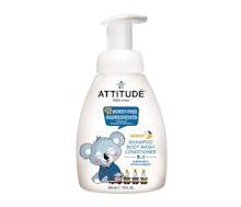 Attitude Little Ones Baby 3 in 1 (Shampoo, Body Wash, & Conditioner) Almond Milk 300 ml