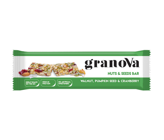 Granova Nuts & Seeds Bar 38 gr