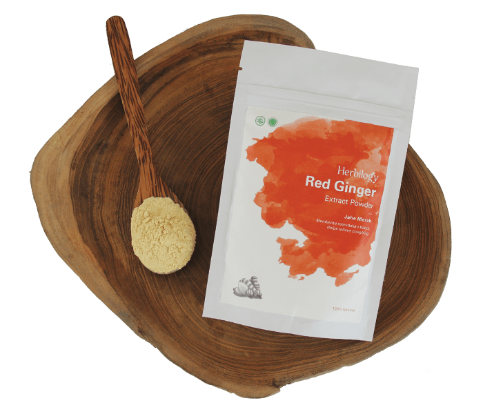 Jual Herbilogy Red Ginger Extract Powder hanya di Lemonilo.com