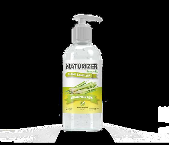 Hand Sanitizer Naturizer by Lemonilo Lemongrass Gel 300 ml