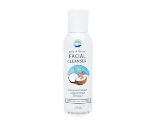 Ocean Fresh Oily & Acne Facial Cleanser Bottle 100 ml