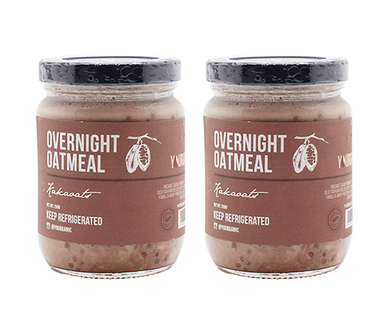 Yourganic Overnight Oatmeal Kakaoats Pack of 2