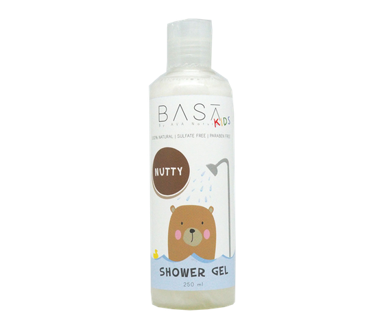 Basa Kids Shower Gel Nutty 250 ml