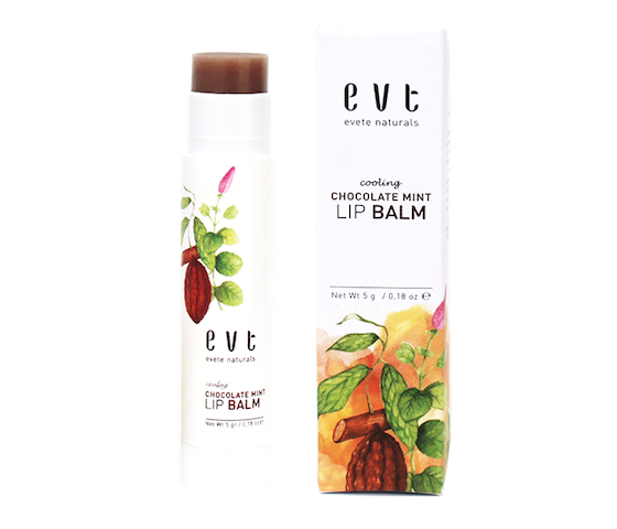 Evete Naturals Cooling Chocolate Mint Lip Balm 5 gr