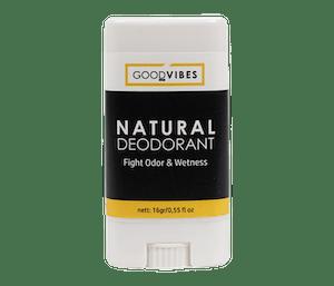 Good Vibes Organic Natural Deodorant