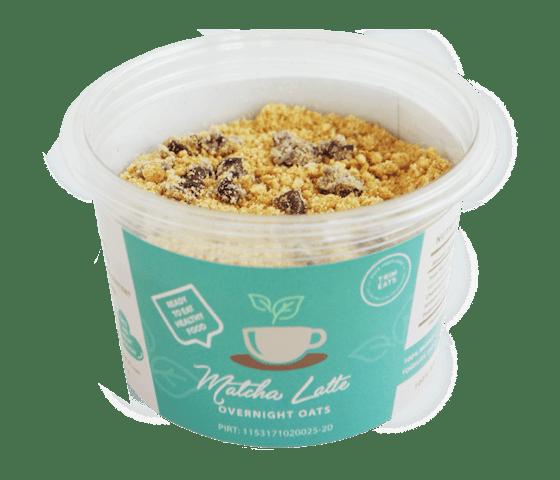 Trim Eats Matcha Latte Overnight Oats