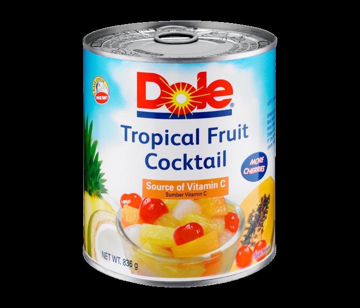 Dole Tropical Fruit Cocktail 836 gr