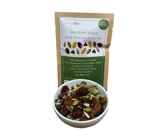 Nourish Bites Nut-Free Blend Seed, Chocolate, & Fruit Mix