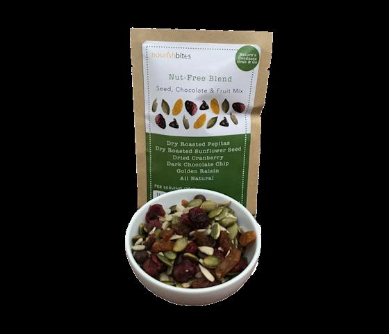 [Flash Sale] Nourish Bites Nut-Free Blend Seed, Chocolate, & Fruit Mix