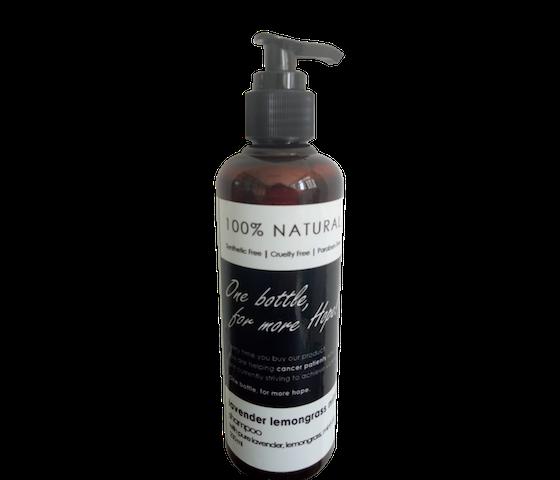 Ava Natural Shampoo Lavender Lemongrass Mint 250 ml