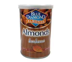 Blue Diamond Barbecue California Roasted Almond 130 gr