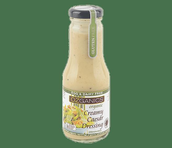 Ozganics Organic Creamy Caesar Dressing 250 ml