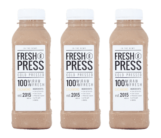 Fresh & Press Cacamond Almond Milk (Susu Almond) Pack of 3