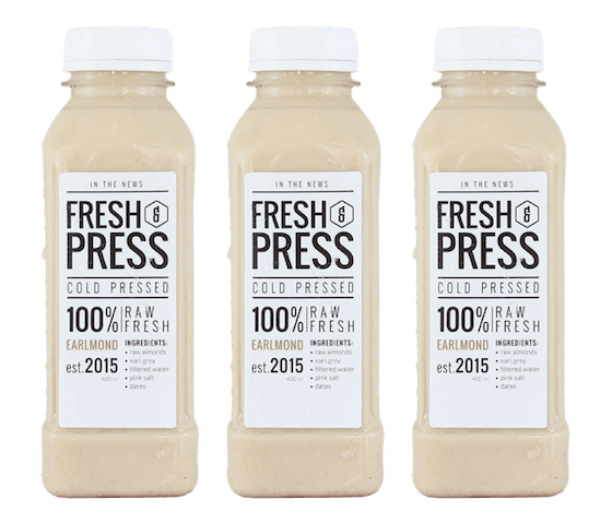 Fresh & Press Earlmond Almond Milk (Susu Almond) Pack of 3