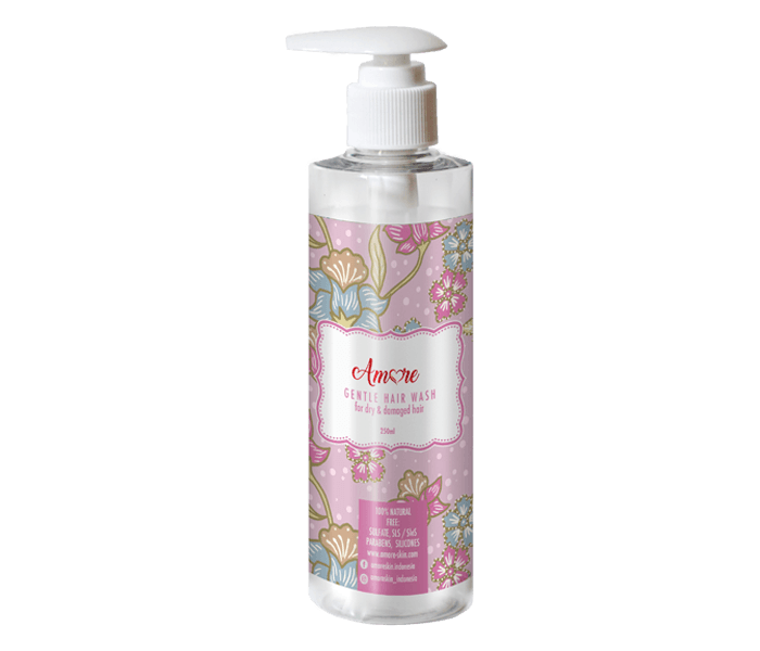 Amore Gentle Hair Wash for Dry & Damaged Hair 250 ml