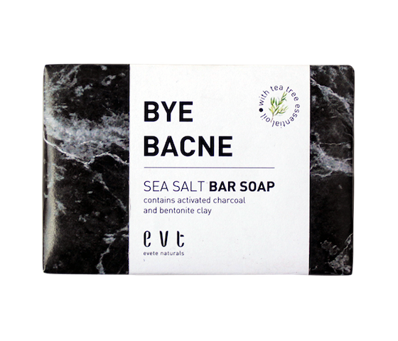 Evete Naturals Bye Bacne Sea Salt Bar Soap 90 gr