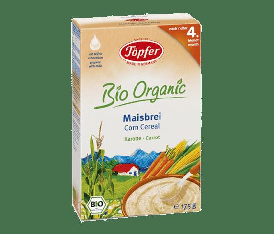 Topfer Bio Organic Sereal Jagung & Wortel 4 Bulan +