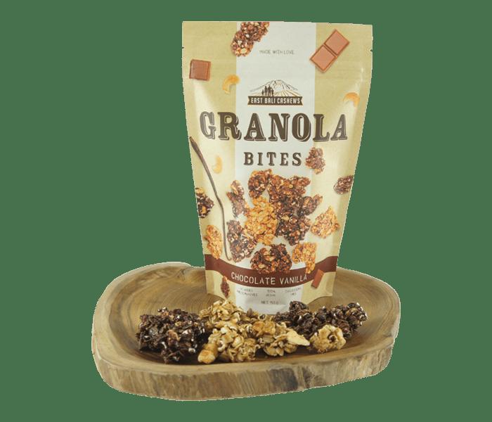 East Bali Cashews Granola Bites Cokelat Vanila