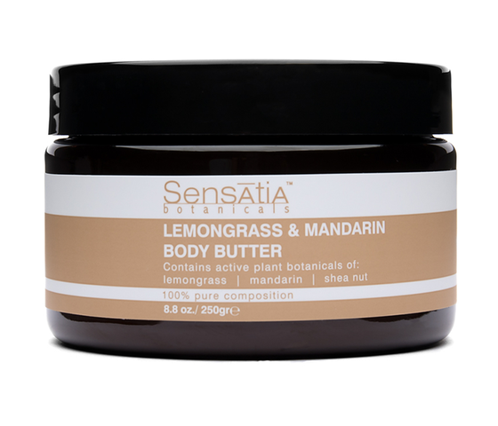 Sensatia Botanicals Lemongrass & Mandarin Body Butter 250 gr