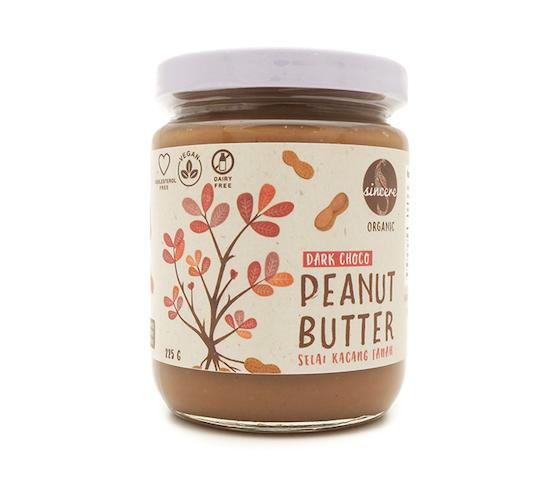 Sincere Selai Kacang Tanah Dark Chocolate