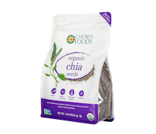 Chosen Food Organic Chia Seeds 454 gr