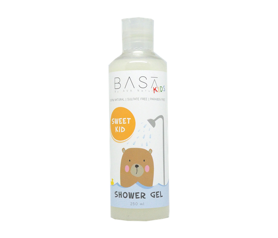 Basa Kids Vanilla Shower Gel 250 ml