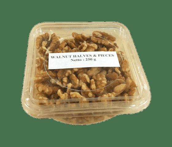 Fingerland Light walnut Halves & Pieces 250 gr