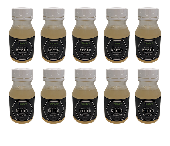 Verdure Water Kefir Ginger 250ml (Pack of 10)