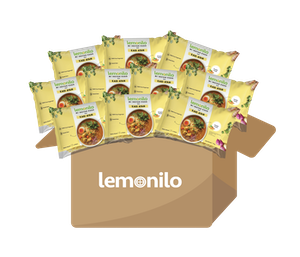 Paket Lemonilo Mi Instan Kuah Rasa Kari Ayam Isi 10 Pcs