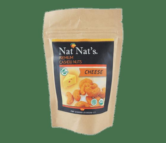 Nat Nat's Kacang Mede Keju 65 gr