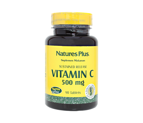 Nature's Plus Sustained Release Vitamin C 500 mg
