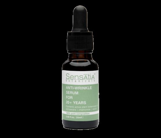 Sensatia Botanicals Anti-Wrinkle Serum for 20+ 20 ml