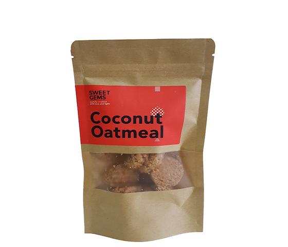 Sweet Gems Coconut Oatmeal Cookies 125 gr