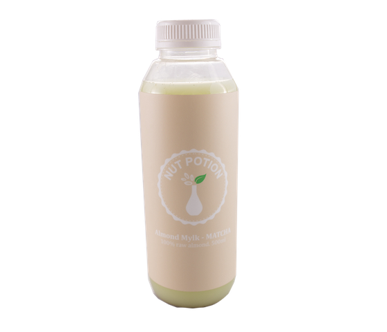 Nut Potion Almond Mylk Matcha 500 ml