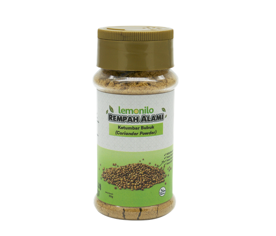 Lemonilo Rempah Alami Ketumbar Bubuk (Coriander Powder) 50 gr