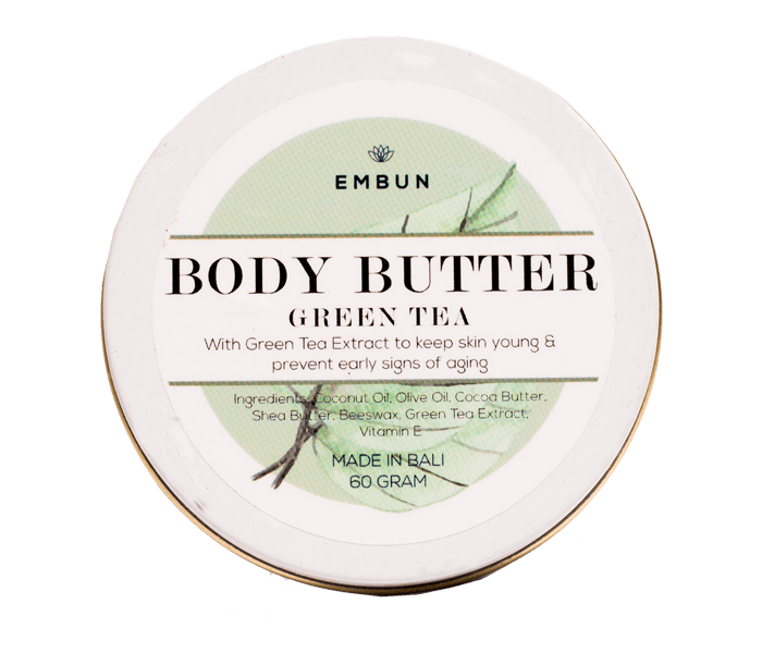 Embun Body Butter Anti-aging Green Tea 60 gr