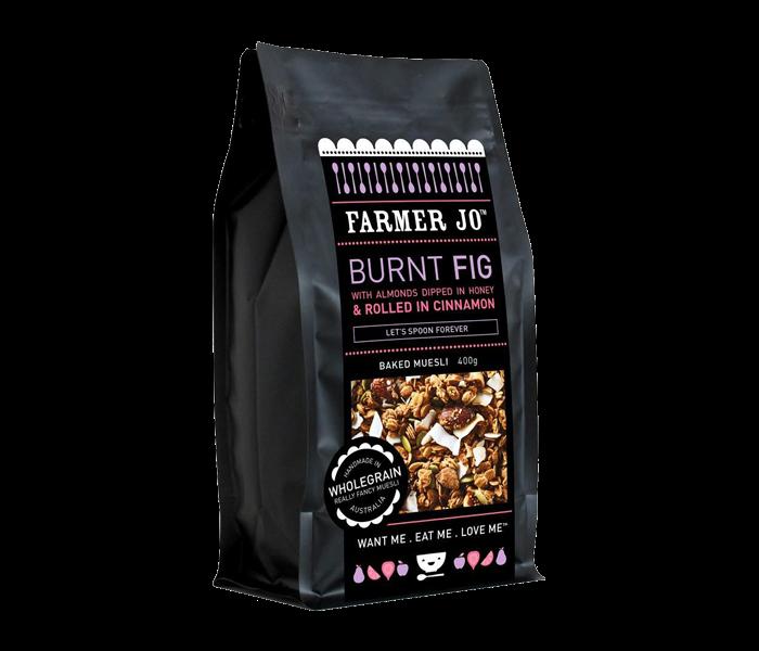 Farmer Jo Burnt Fig-Baked Muesli 400 gr