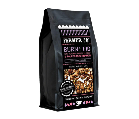 Farmer Jo Burnt Fig-Baked Muesli 400 gr