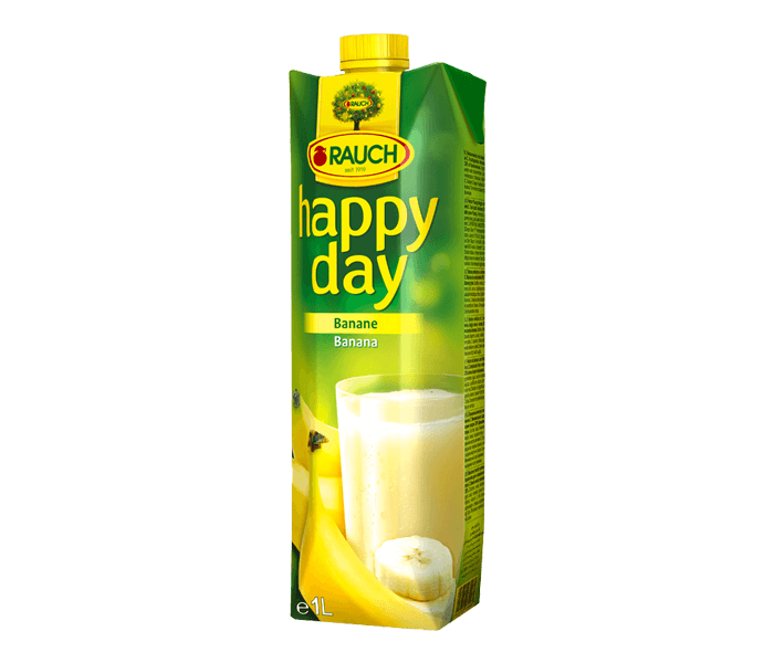 Rauch Happy Day Banana Fruit Juice 1 L
