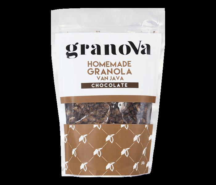 Jual Granova Chocolate Homemade Granola 300 gr hanya di Lemonilo.com