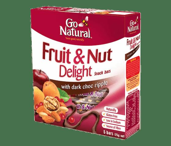Go Natural Bar Kacang, Buah & Dark Choco (Box)