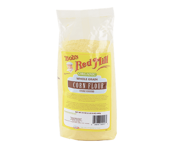 Bob's Red Mill Organic Corn Flour 680 gr