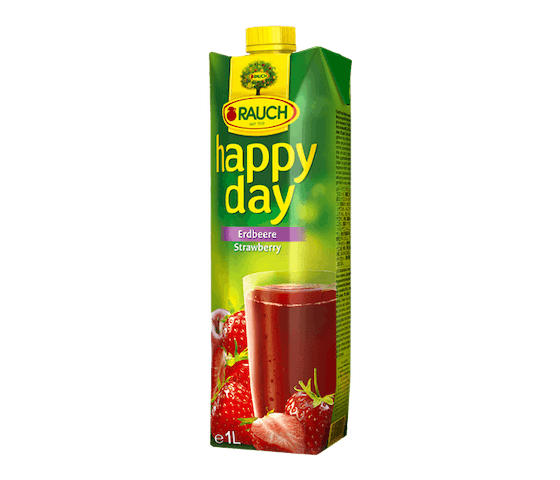 Rauch Happy Day Strawberry Fruit Juice 1 L