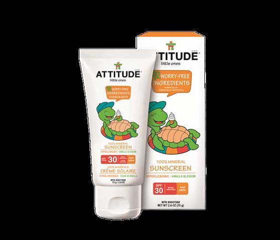 Attitude Little Ones 100% Mineral Sunscreen 75 gr